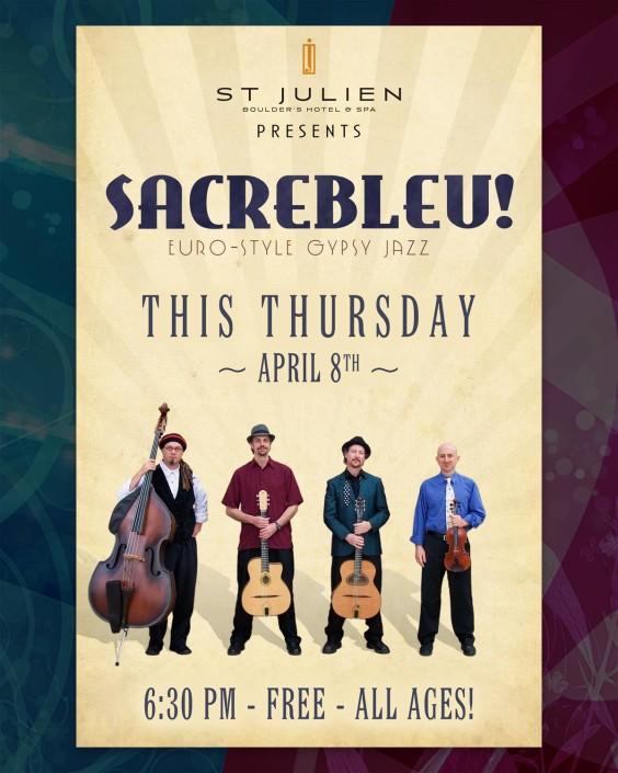 An old Sacrebleu! flyer